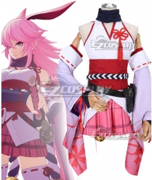 Honkai Impact3 Yae Kimono Miko Cosplay Costume