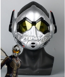 Marvel Ant Man 2: Ant Man and the Wasp Wasp Hope Van Dyne Helmet Cosplay Accessory Prop
