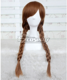 Horror Movie Annabelle: Creation Annabelle Halloween Brown Cosplay Wig