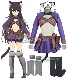 How NOT to Summon a Demon Lord Isekai Maou to Shoukan Shoujo Dorei Majutsu Rem Galleu Cosplay Costume