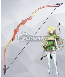 How NOT To Summon A Demon Lord Isekai Maou To Shoukan Shoujo Dorei Majutsu Shera L Greenwood Bow Cosplay Weapon Prop
