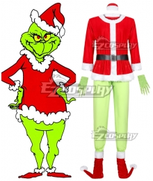 How the Grinch Stole Christmas Cosplay Costume