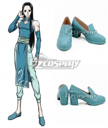 Hunter×Hunter Illumi Zoldyck Blue Cosplay Shoes