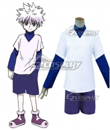 Hunter×Hunter Killua Zoldyck Cosplay Costume