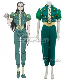 Hunter X Hunter Illumi Zoldyck Cosplay Costume
