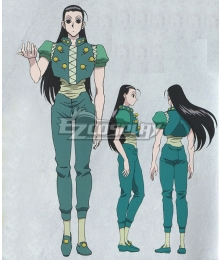 Hunter X Hunter Illumi Zoldyck Cosplay Costume