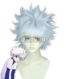 Hunter X Hunter Killua Zoldyck White Cosplay Wig
