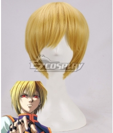 Hunter X Hunter Kurapika Golden Cosplay Wig