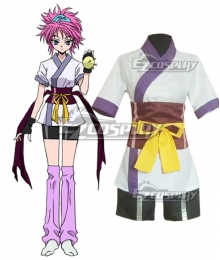 Hunter X Hunter Machi Komacine Cosplay Costume