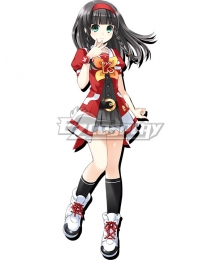 Hyperdimension Neptunia K-Sha Cosplay Costume