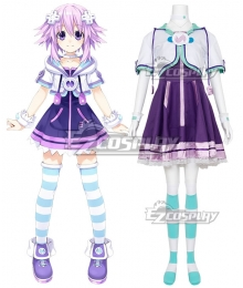 Hyperdimension Neptunia Neptune Cosplay Costume