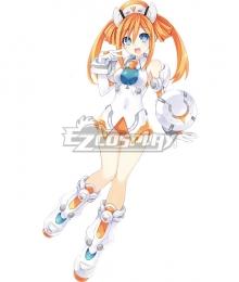 Hyperdimension Neptunia Orange Heart Cosplay Costume