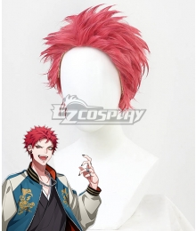 Hypnosis Mic Bad Ass Temple Evil Monk Kuko Harai Pink Cosplay Wig