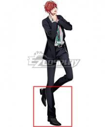 Hypnosis Mic Division Rap Battle Doppo Kannonzaka DOPPO Black Cosplay Shoes