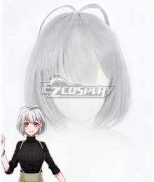 Hypnosis Mic Division Rap Battle Nemu Aohitsugi Silver Cosplay Wig