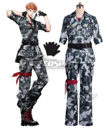 Hypnosis Mic Division Rap Battle Riou Mason Busujima Crazy M Cosplay Costume
