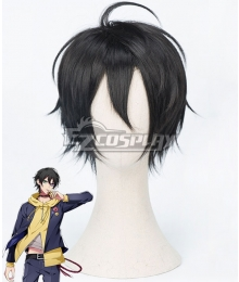 Hypnosis Mic Division Rap Battle Saburo Yamada MC.L.B Black Cosplay Wig