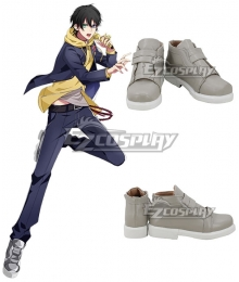 Hypnosis Mic Division Rap Battle Saburo Yamada MC.L.B Gray White Cosplay Shoes