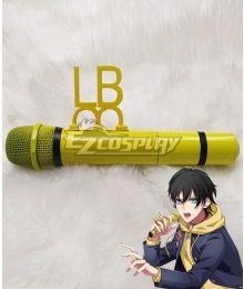 Hypnosis Mic Division Rap Battle Saburo Yamada MC.L.B Yellow Microphone Cosplay Weapon Prop