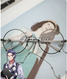 Hypnosis Mic Dotsuitare Hompo Rosho Tsutsujimori WISDOM Glasses Cosplay Accessory Prop