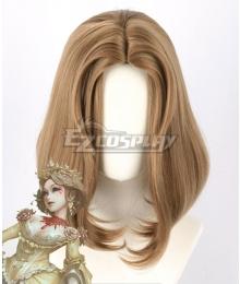 Identity V Bloody Queen Mary Bloodbath Halloween Brown Cosplay Wig