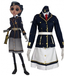 Identity V Coordinator Martha Behamfil Navy Halloween Cosplay Costume