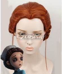 Identity V Doctor Emily Dyer Halloween Brown Cosplay Wig