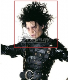 Identity V Edward Scissorhands Horror Halloween Black Cosplay Wig
