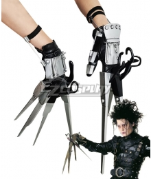 Identity V Edward Scissorhands Horror Halloween Gloves Cosplay Weapon Prop