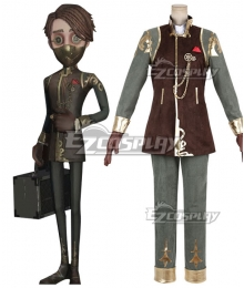 Identity V Embalmer Aesop Carl Banker Halloween Cosplay Costume