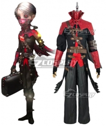 Identity V Embalmer Aesop Carl Exorcist Halloween Cosplay Costume