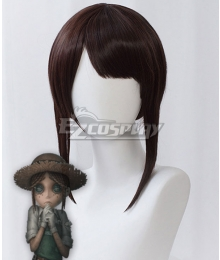 Identity V Gardener Emma Woods Halloween Brown Cosplay Wig