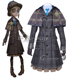 Identity V Gardener Emma Woods Lady Truth Halloween Cosplay Costume
