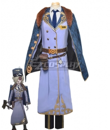 Identity V Grave keeper Andrew Kreiss Train Conductor Halloween Cosplay Costume