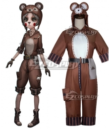 Identity V Mechanic Tracy Reznik Bear Girl Halloween Cosplay Costume