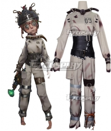 Identity V Mechanic Tracy Reznik Cunning Smile Disease Halloween Cosplay Costume