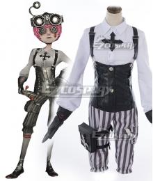 Identity V Mechanic Tracy Reznik Gothic Halloween Cosplay Costume