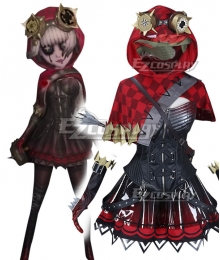 Identity V Mechanic Tracy Reznik Little Red Riding Hood Halloween Cosplay Costume