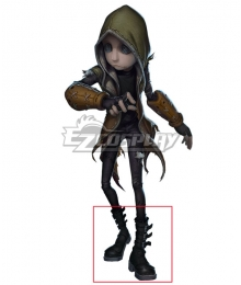 Identity V Mercenary Red Shoes Cosplay Boots