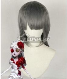 Identity V Perfumer Vera Nair Crimson Bride Halloween Grey Cosplay Wig