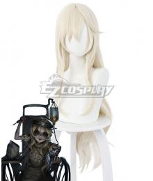 Identity V Sculptor Galatea Halloween Golden Cosplay Wig