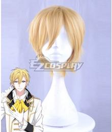 Idolish 7 Nagi Rokuya Golden Cosplay Wig