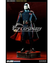 G.I. Joe series Cobra Commander Helmet Staff Knife Cosplay Weapon Prop