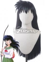 Inuyasha: A Feudal Fairy Tale Kagome Higurashi Black Cosplay Wig