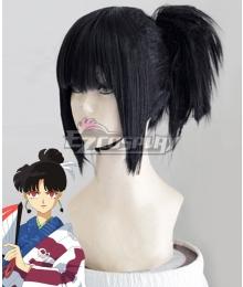 Inuyasha Kagura Black Cosplay Wig
