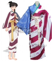 Inuyasha Kagura Kimono Cosplay Costume