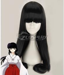 Inuyasha Kikyo Black Cosplay Wig