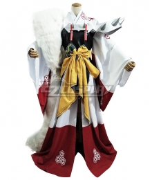 Inuyasha Sesshomaru Female Cosplay Costume
