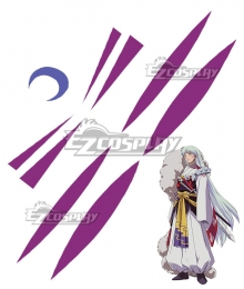 Inuyasha Sesshomaru Tattoo Sticker Cosplay Accessory Prop