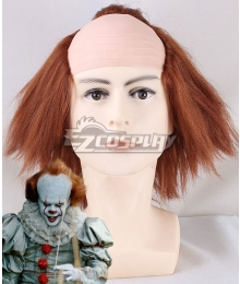 It 2017 Movie Pennywise Halloween Cosplay Wig